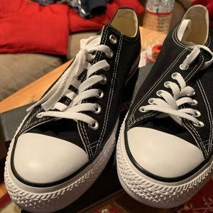 CONVERSE ALL STAR LOW BLACK & WHITE